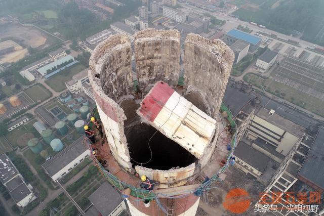 上饶冷却塔拆除公司欢迎来电√高空作业公司欢迎您
