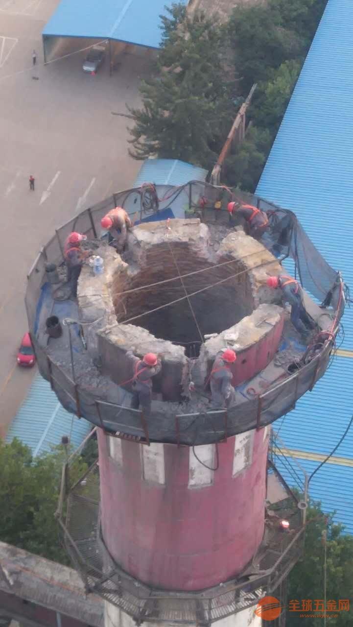 中山砖瓦厂烟囱拆除公司、安全企业√高空作业公司欢迎您