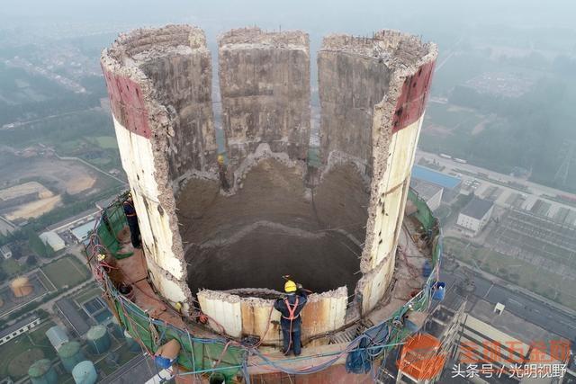 温州废弃烟囱拆除施工公司√烟囱维修公司欢迎您