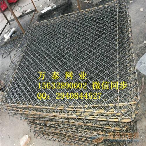 菱形钢筋焊接钢板网片