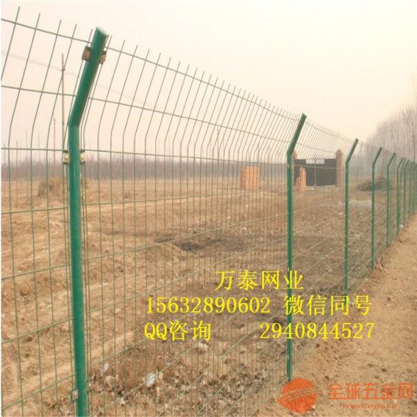 围挡围栏制作 铁丝浸塑围栏 双边丝围栏