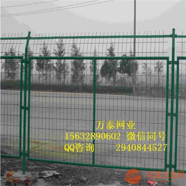 道路围挡围栏 浸塑围栏 框架护栏价格