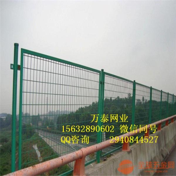 护栏网栅栏 护栏网样式 绿色浸塑网栏
