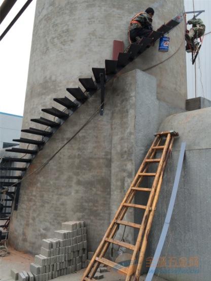 烟囱安装平台及转梯
