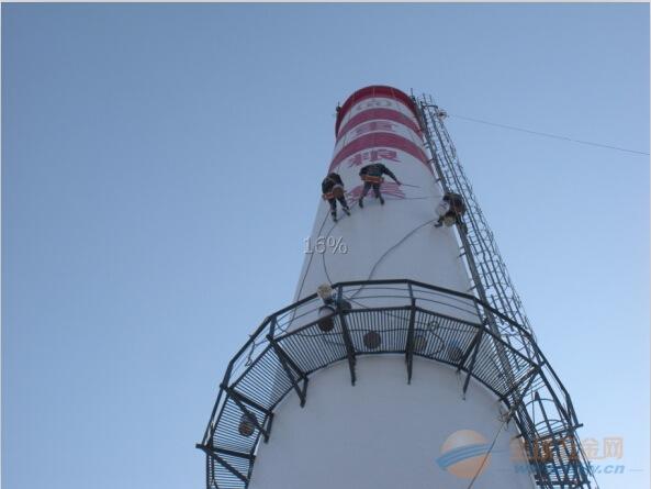 丰县50米烟囱美化服务公司全国施工价格划算