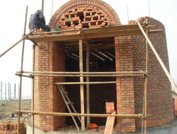 别墅烟囱结构图