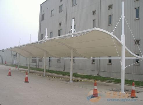 廊坊膜结构自行车棚安装公司