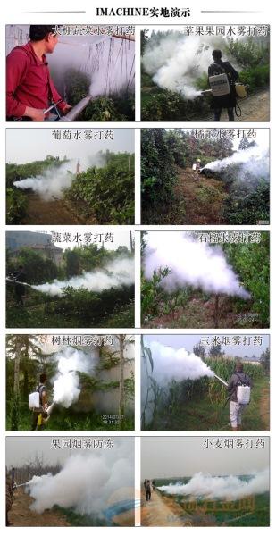 厂家供应背负式双管弥雾机新芜区双管双启动果树弥雾机
