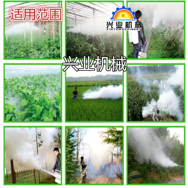 背负式汽油烟雾机高淳县果树大棚使用的弥雾机