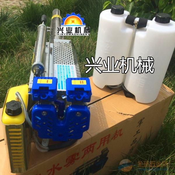 新型背负式汽油弥雾机淮北果园远射程快速打药机