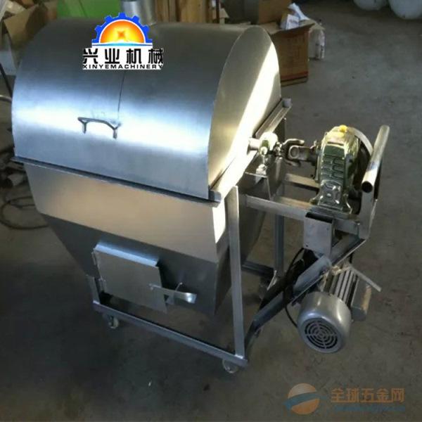 滚筒炒籽机张掖100斤电加热炒货机