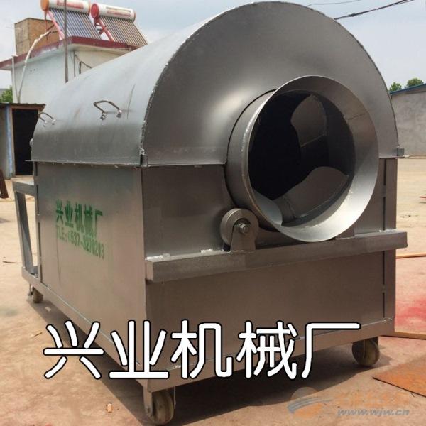 100公斤滚筒炒货机张家界花生瓜子翻炒机