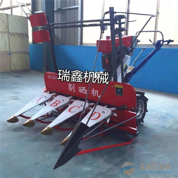 扶余县优质稻麦收割机养殖牧草收割机
