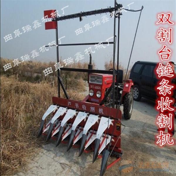 潮州稻麦艾草收割机柳条收割机