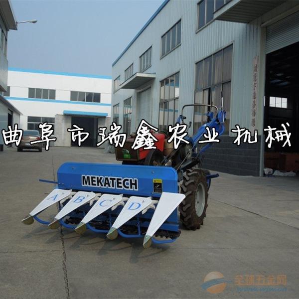 江源县水稻小麦牧草收割机手扶式艾草收割机