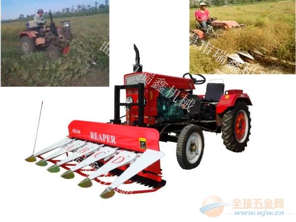 济源多功能玉米收割机小型手推式辣椒割晒机