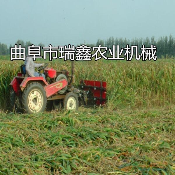 通辽新款柴油艾草收割机牧草水稻收割机