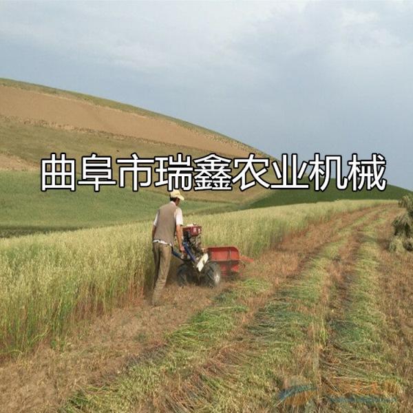 鹤岗小麦割晒机图片厂家直销小型收割机