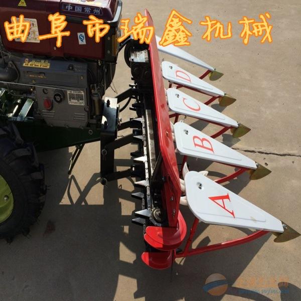 丽水批发芦苇艾草收割机柴油手扶式稻麦割晒机