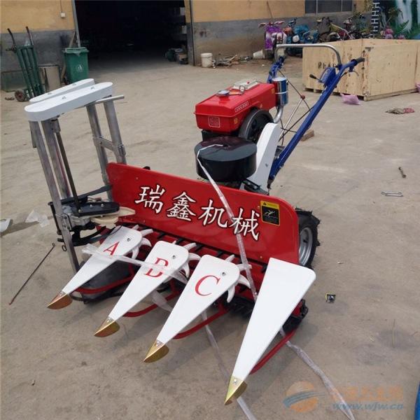 宿州艾草种植收割机链条式稻麦收割机