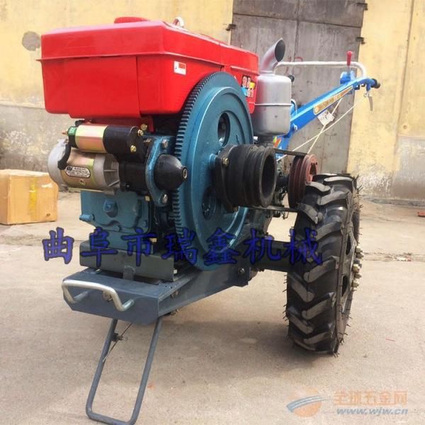 农用多功能手扶拖拉机旋旋机 广元12马力旋耕机微耕机