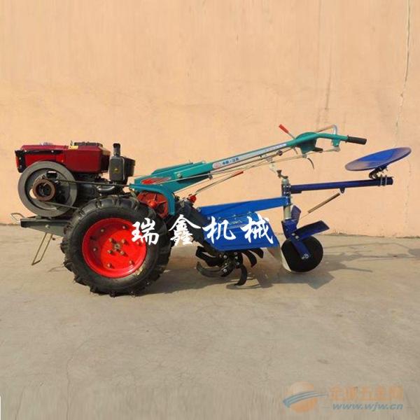 多功能打田机 贵州12马力手扶拖拉机耕地机