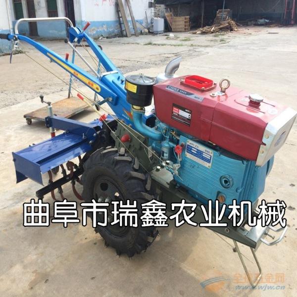 多功能农用柴油微耕机 成都柴油大马力手扶拖拉机