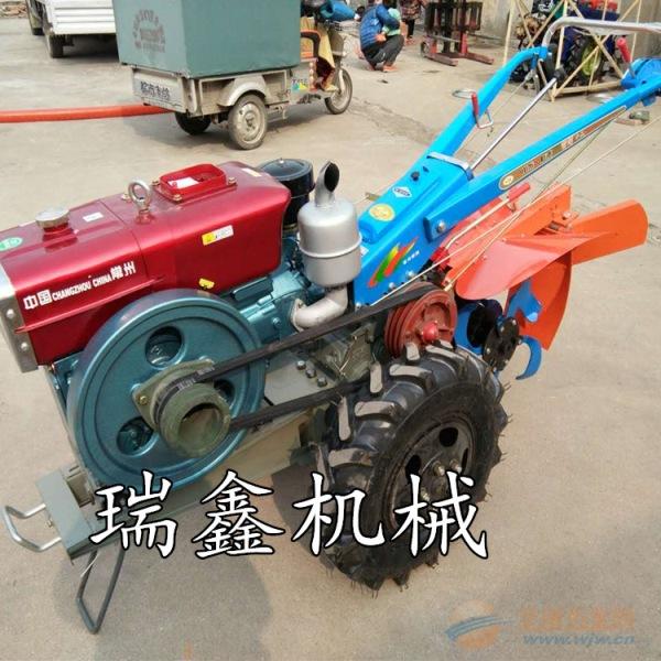 农用柴油手扶拖拉机天门农用小型旋耕机