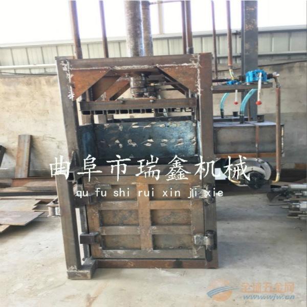 废旧金属液压压块机 家具厂专用油漆压缩机图片 松阳县