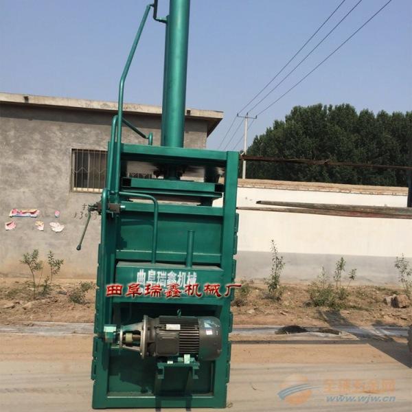废旧编织袋液压打包机 定制化纺类压缩打包机 庆元县