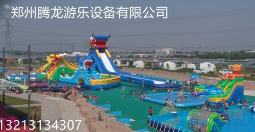 游乐园 大型动漫水世界 儿童大型支架游泳池