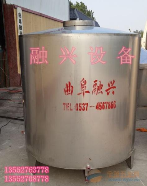 安徽k8304不锈钢储罐 酒罐 专业供应