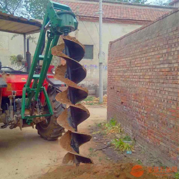 淄博两米电线杆挖坑机