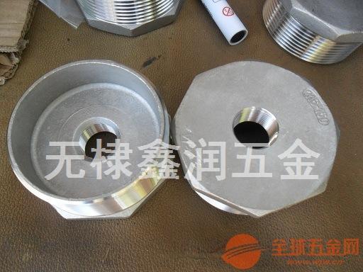 供应无棣鑫润精密铸造不锈钢316-3*4/3美制螺纹六角补心
