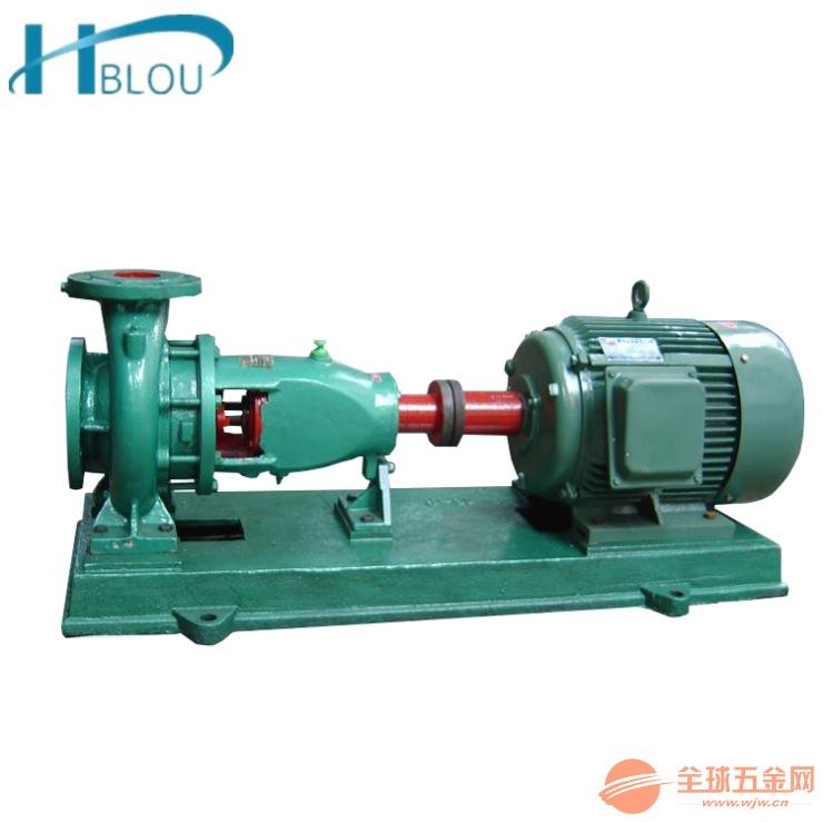 卧式耐高温热水泵IS65-50-160B农田灌溉泵