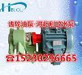 齿轮泵KCB-83.3油田输油泵增压循环原油泵2CY-5