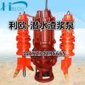 潜水渣浆泵泥浆泵40ZJQ-40-17-K潜水吸砂泵抽沙泵