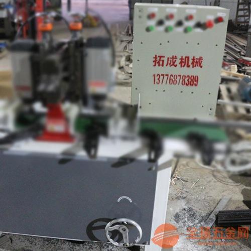 全自动PVC木地板开槽机多功能家用木工开槽订做塑木地板开槽铣槽