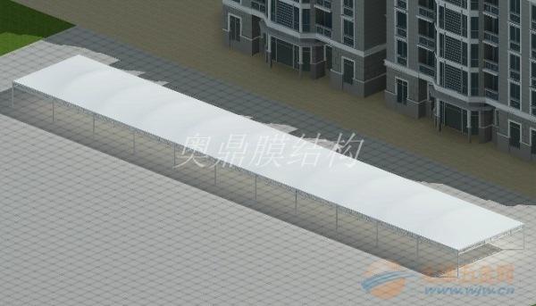 龙门县装一个膜结构雨棚费用多少
