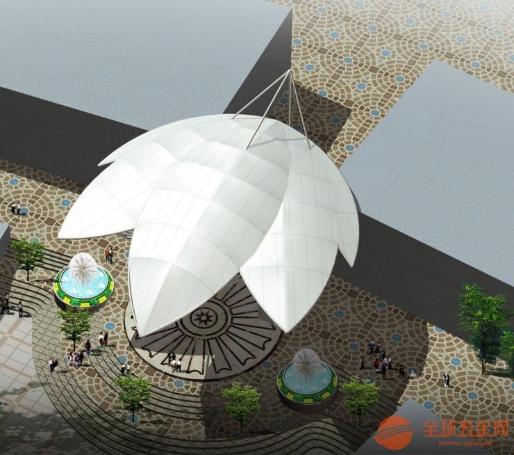 惠州公交站台膜结构|公交站台膜结构工程|奥鼎膜结构建筑设计与施工