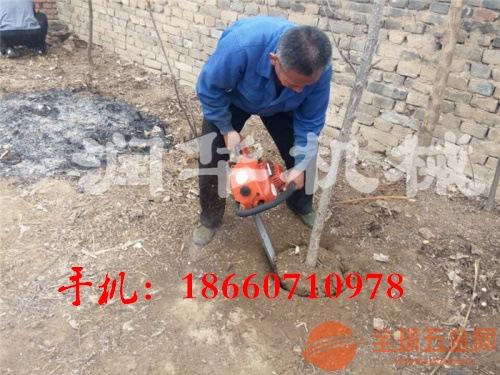 高效农用起树机 汽油链条式挖树机 优质挖树机
