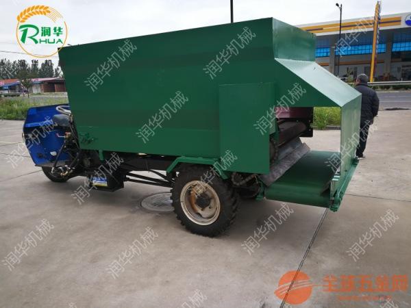 大型养殖场专用喂料车 农用撒料车 新型搅拌撒料车