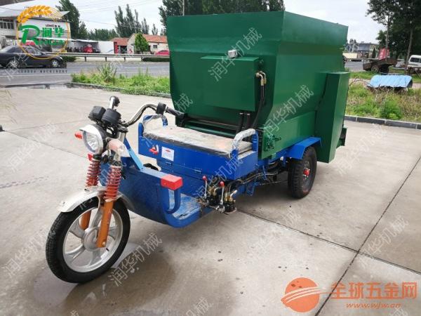 柴油投料机 青贮取料机图片 节料环保撒料车
