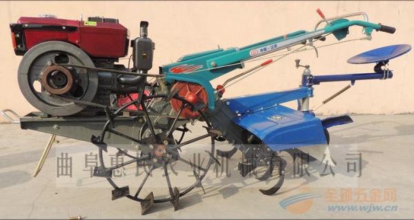 大棚专用12马力手扶配套旋耕机 小型犁地松土旋耕机各