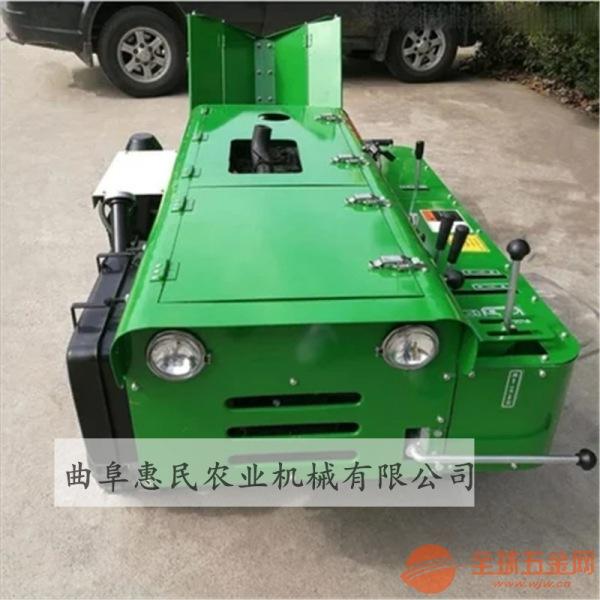 多功能管理机自走履带式开沟施肥机河池地区32马力农用机械设备