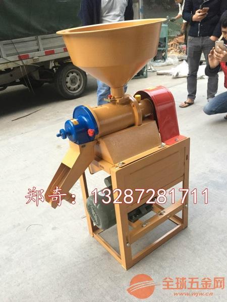 促销家用小型碾米机 多功能粮食脱皮机 水稻谷子去壳机