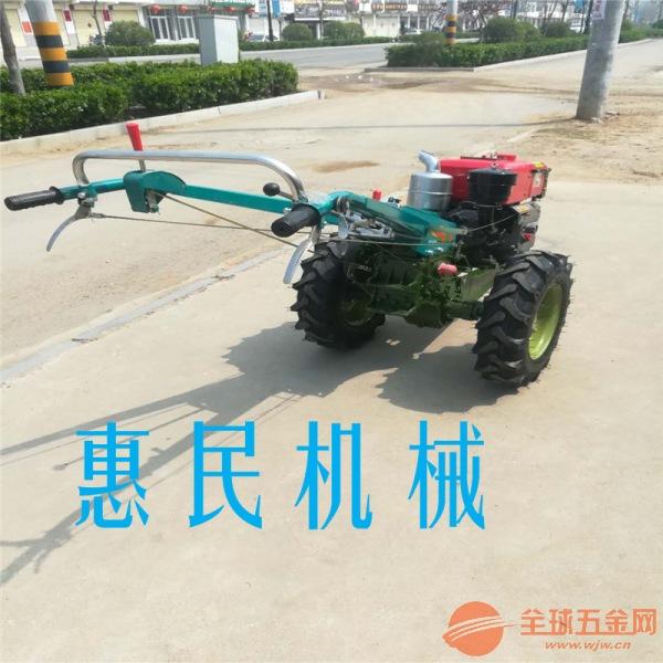 农用手扶水旱地除草松土翻土机 适合于硬土质柴油翻土机
