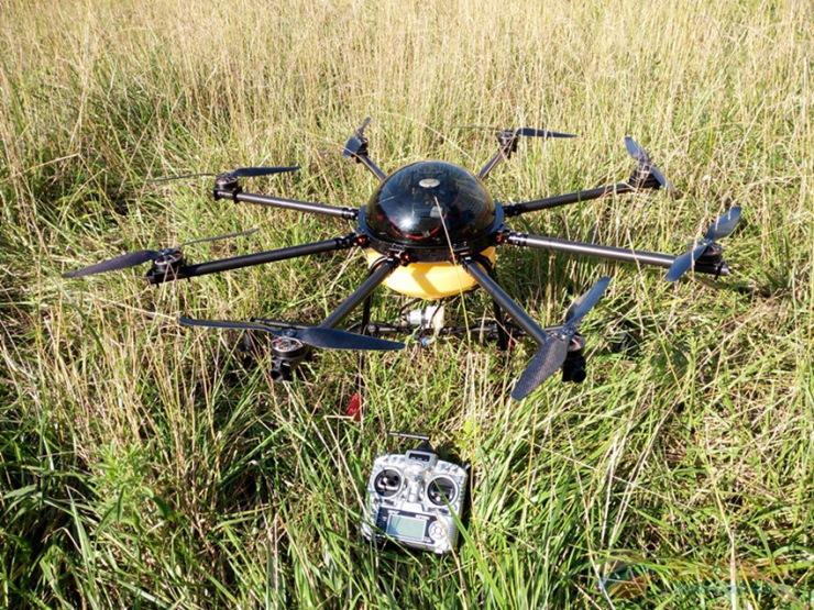 农用打药遥控飞机植保无人机