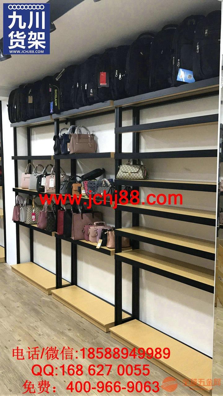 女装鞋柜店展架服装店包包架置物架