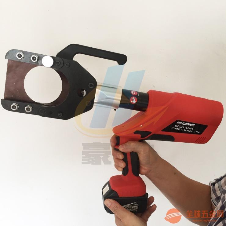 手提式电缆切刀 EZ-85电动液压剪 铜铝电缆剪线钳 玉环电动液压剪刀